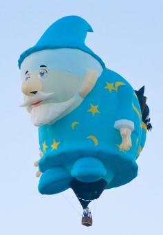 Albuquerque International Balloon Fiesta, EXHIB-IT! Sponsored Check Ride Balloon, EXHIB-IT!, DJ Heckes, Balloon Fiesta, Hot Air Balloon, Steve Chavez, Mr Sandman
