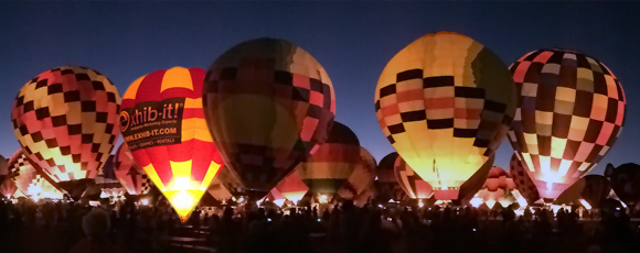 Ballon Fiesta, Albuquerque International Balloon Fiesta, Balloon Fiesta 2014, Balloon Glow, EXHIB-IT!