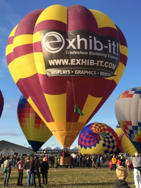 Hot Air Balloon, Balloong Fiesta, EXHIB-IT!
