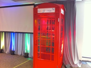 trade show booth phonebooth