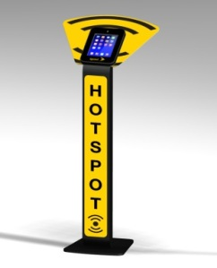 Custom Sprint iPad Kiosk, Trade Show exhibit