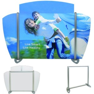 Fabric Displays, table top, trade show, exhibiting, EXHIB-IT!