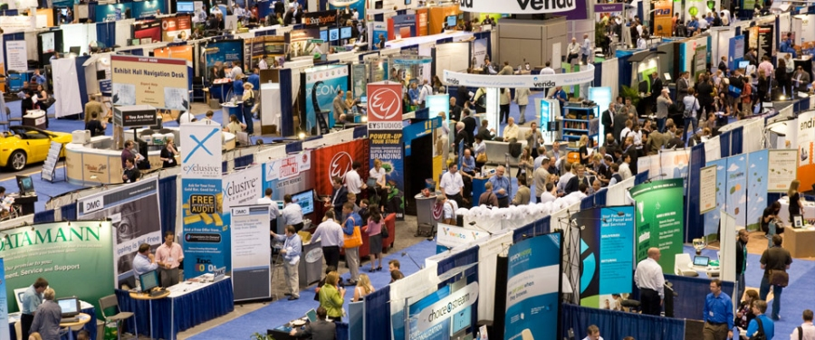 Trade Show Exhibit Floor