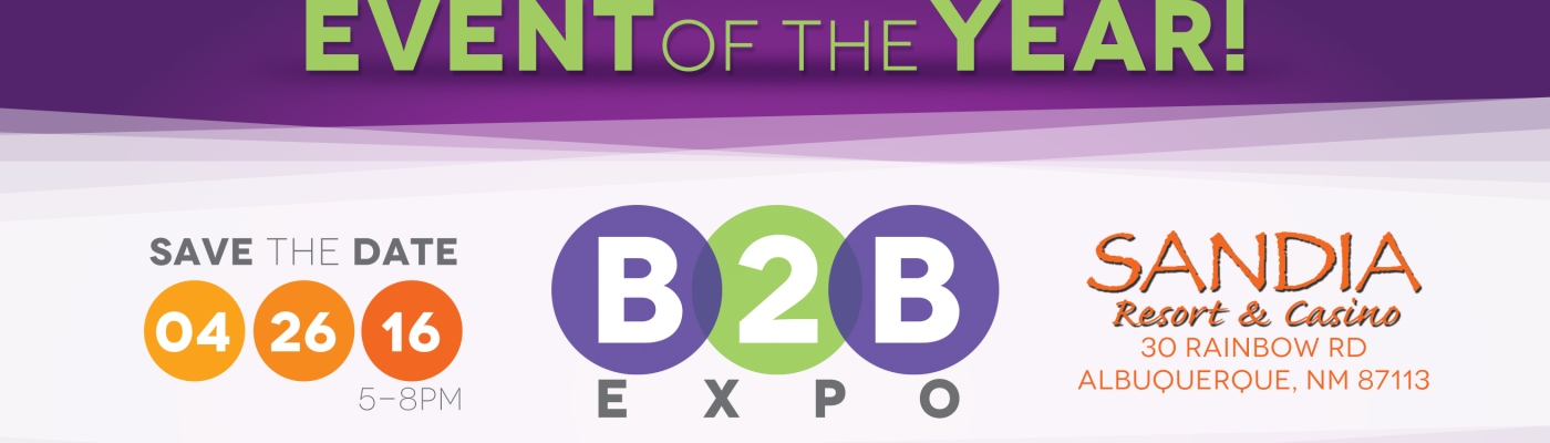 EXHIB-IT!, 9th Annual, B2B Expo, Sandia Casino, Southwest Capital Bank, Albuquerque, Networking