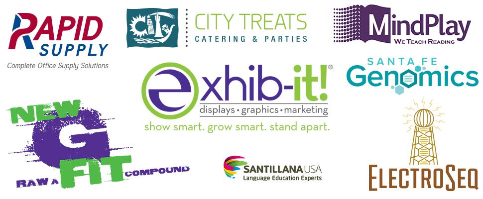 EXHIB-IT! Logo Designs, marketing company, vector logos, graphic design,