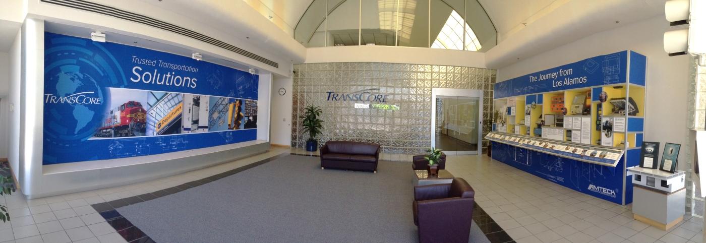 TransCore, Albuquerque, Front Lobby, EXHIB-IT!
