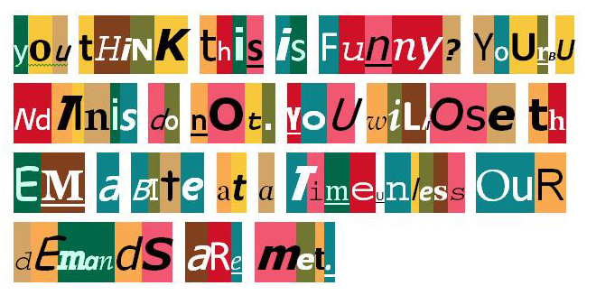 ransom note 2