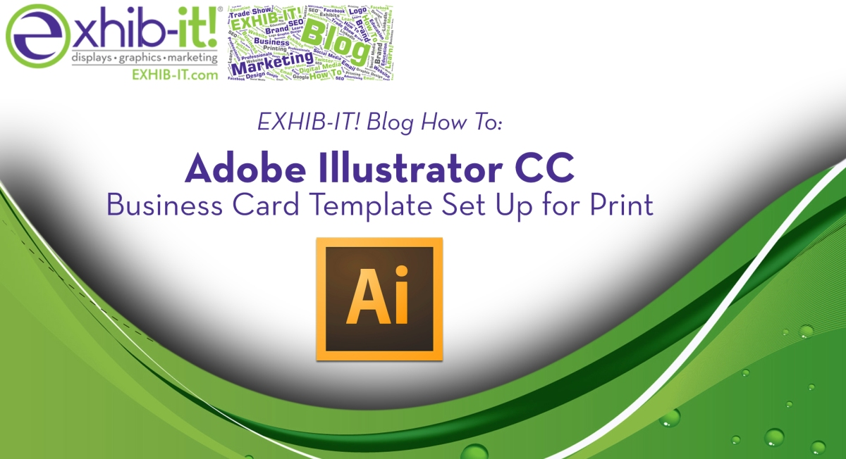 How to adobe illustrator cc business card template set up for how to adobe illustrator cc business card template set up for print exhib it marketing blog cheaphphosting Images