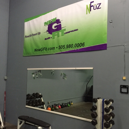 New G Fit, Branded, Vinyl, Banner, EXHIB-IT!, DJ HECKES