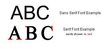 serif-vs-sans-serif-font