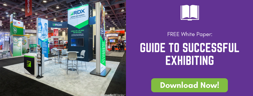 Download our Free complete Guide to Successful Exhibiting