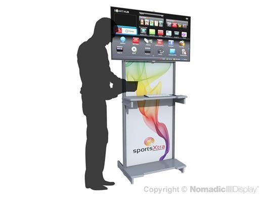 AV Interactive Workstation Kiosk