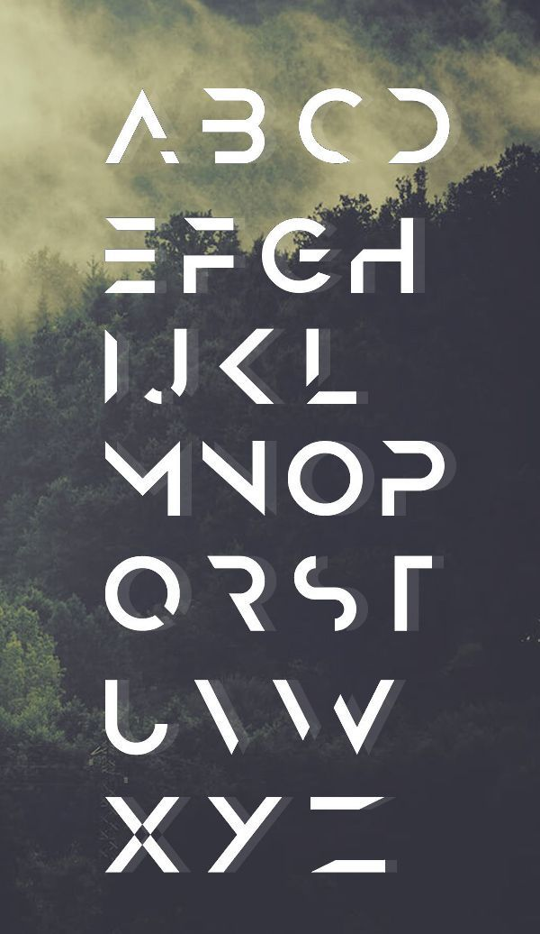 Cropped Typography