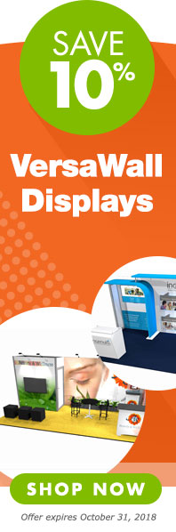 Save 10 percent on VersaWall System Modular Displays